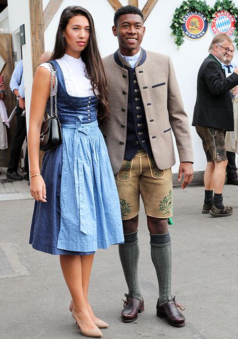 David Alaba mit seiner neuen Freundin