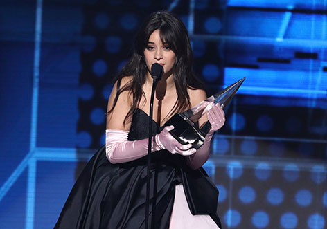Camilla Cabello bei den American Music Awards 2018