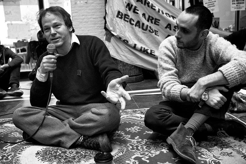 David Graeber speaks at Maagdenhuis Amsterdam, 2015-03-07