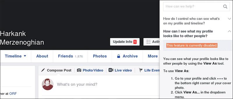 Facebook Sicherheitslücken