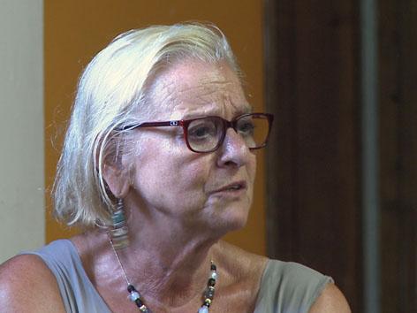 Die Organisatorin des Peace Camps und Psychotherapeutin Evelyn Böhmer-Laufer