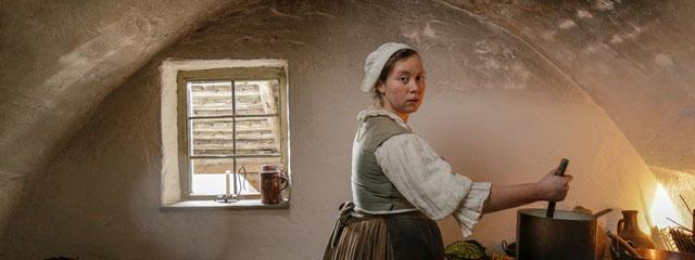 Bäuerin Marta Küzinger