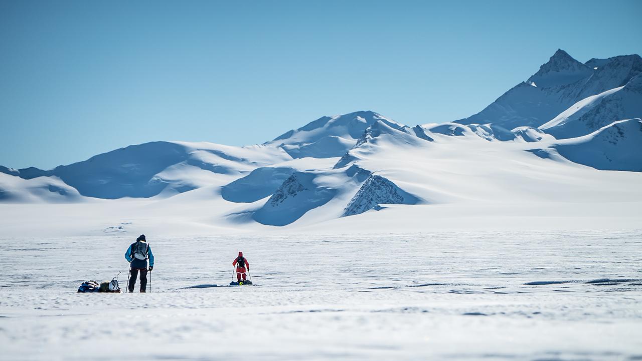 Freeriding in der Antarktis