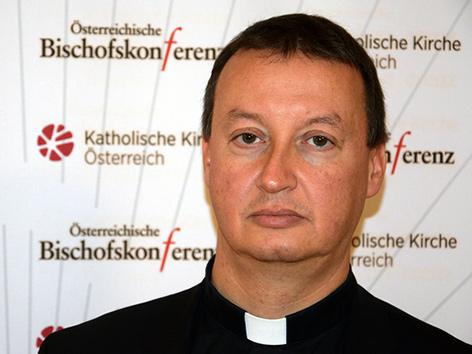 Generalsekretär der Bischofskonferenz Peter Schipka