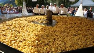 Kaiserschmarrnfest - Weltrekord