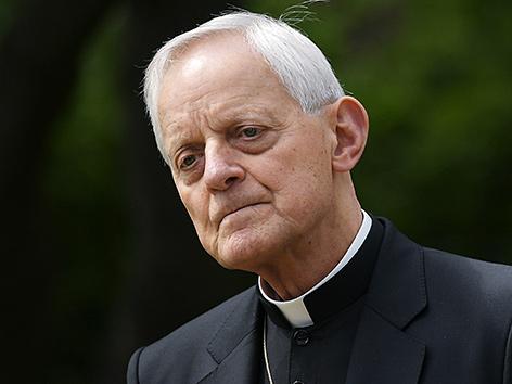 Der Erzbischof von Washington, Kardinal Donald Wuerl