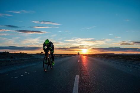 Michael Strasser auf dem Weg zum Weltrekord