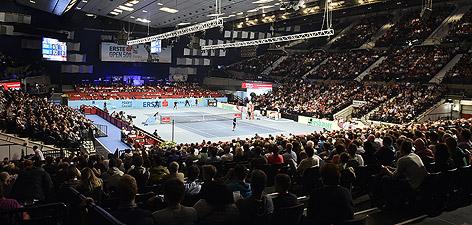 Wiener Stadthalle während der Erste Bank Open 500