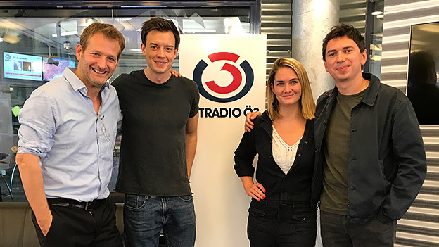 Andreas Ferner, Philipp Hansa, Julian LePlay und Gabi Hiller