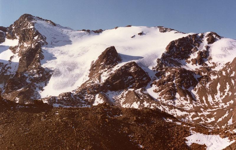 Der Weißbrunnferner 1983