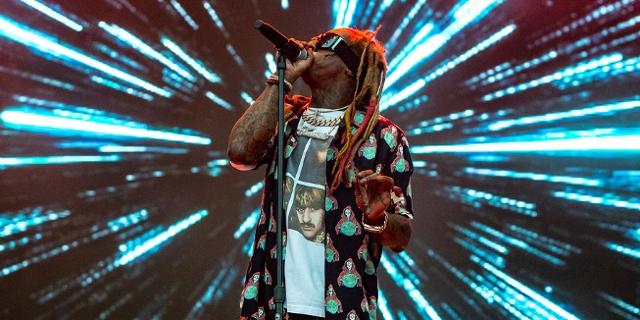 Lil Wayne bei einem Konzert