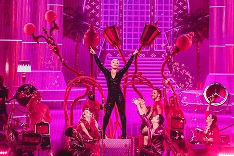 Pink auf der Bühne