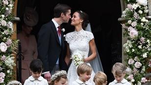Pippa Middleton bei ihrer Hochzeit im Jahr 2017