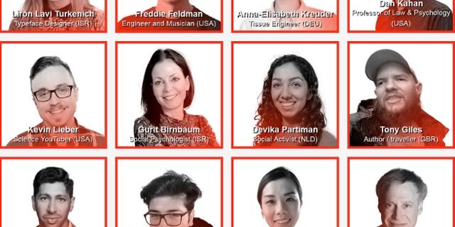 Menschen aus unterschiedlichen Disziplinen, die auf der TEDxVienna vortragen werden