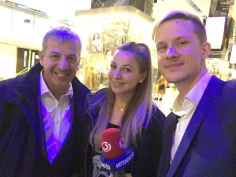 """Premiere von """"Bohemian Rhapsody"""" in London – Max Bauer war dabei."""