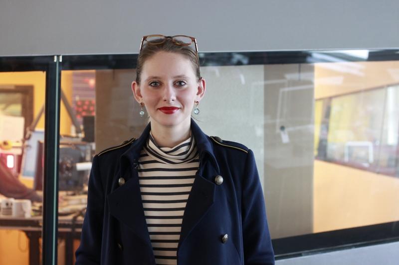 Ana Badhofer im Studio