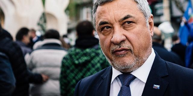 Vizepremierminister Bulgariens Valery Simeonov bei einer Veranstaltung