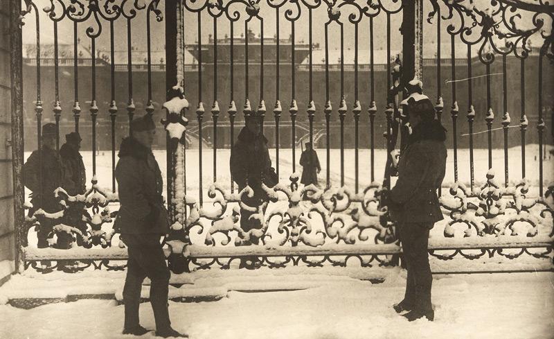 Verwaistes kaiserliches Domizil, Schönnbrunn Dezember 1918