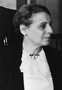 Lise Meitner, undatieres Foto