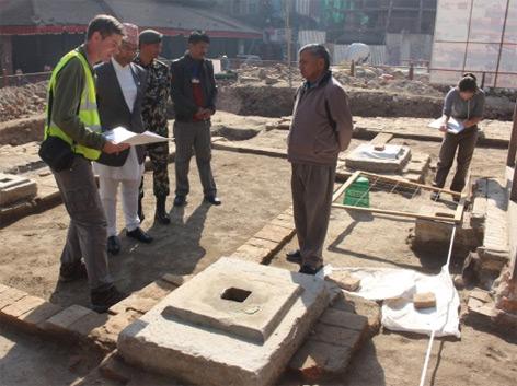 Analyse der historischen Bauweise in Kathmandu