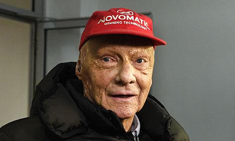 Niki Lauda lächelt