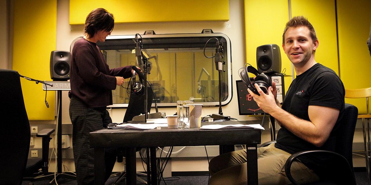Max Schrems im Doppelzimmer Studio bei Elisabeth Scharang