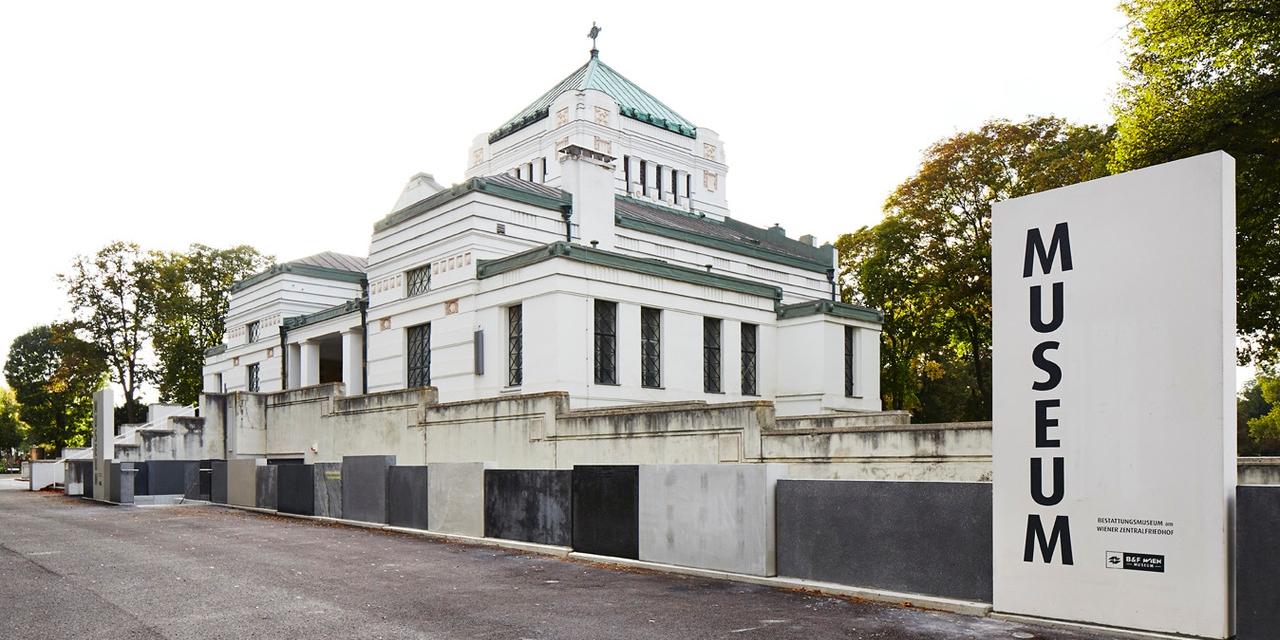 exterior undertaker's museum bestattungsmuseum vienna wien