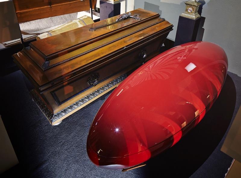 more coffins undertaker's museum bestattungsmuseum vienna wien
