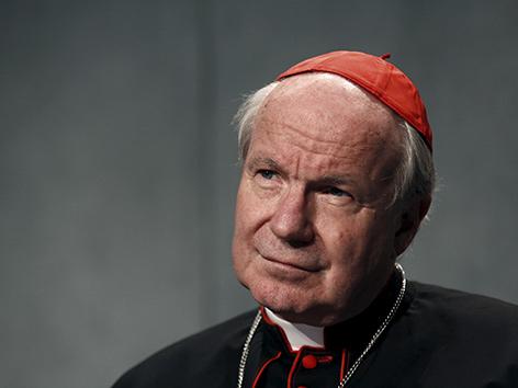 Kardinal Christoph Schönborn im Vatikan (2015)