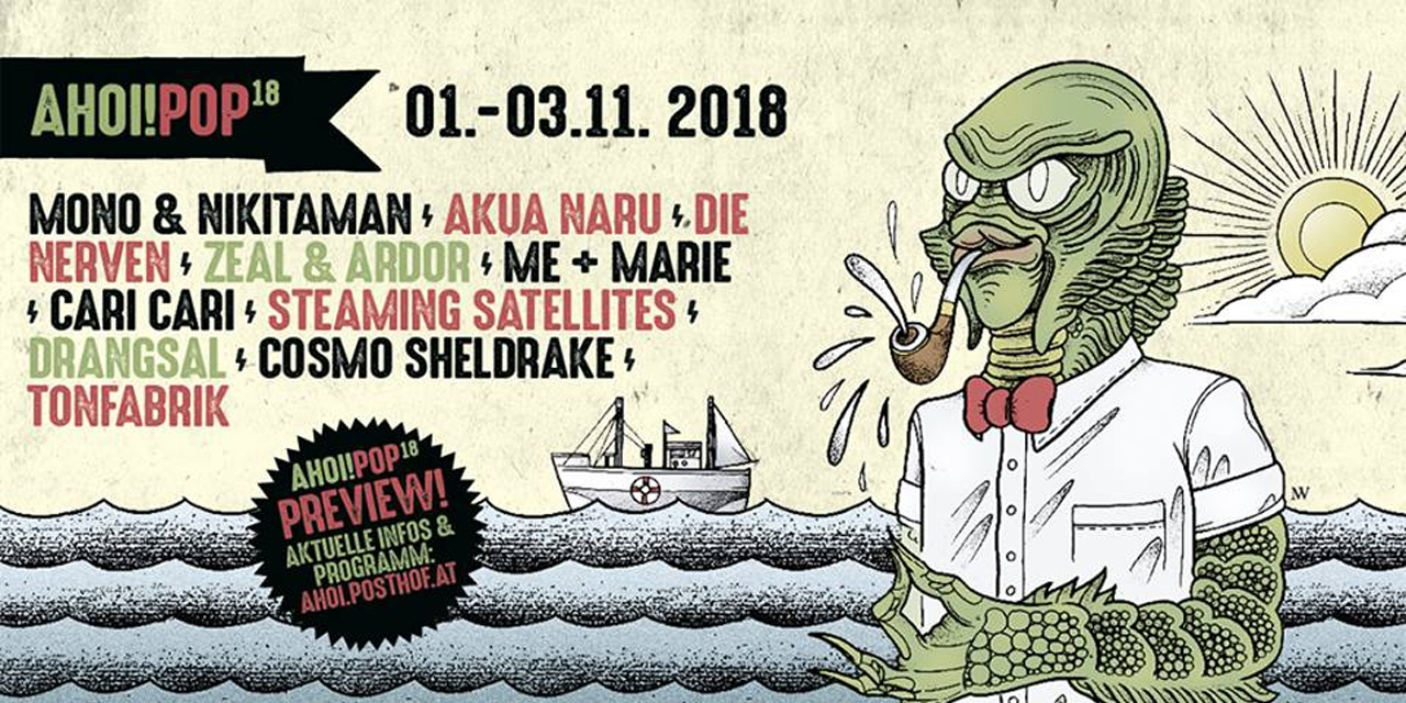 Ahoi Pop 2018 Flyer