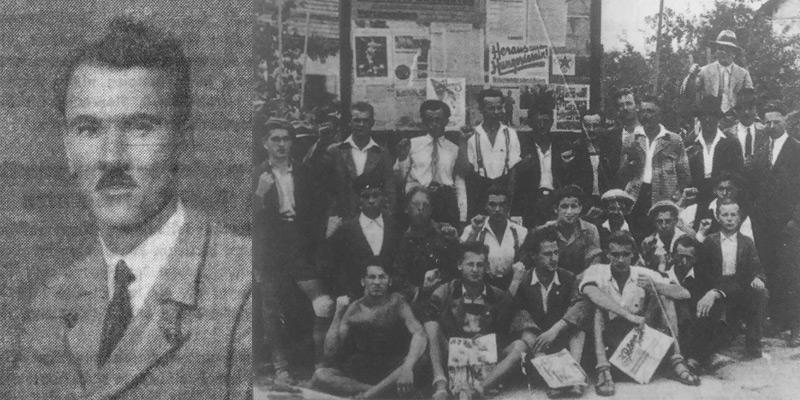 Gregor Kersche, Gründer der KP Kärnten, 1930 / Kommunistischer Jugendtag 1932