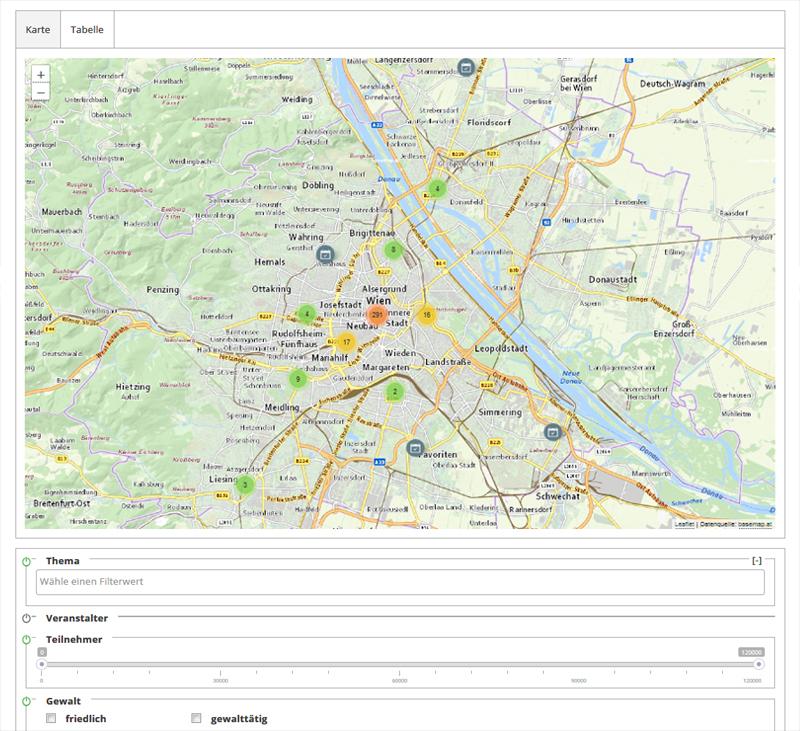 Screenshot: Online-Karte