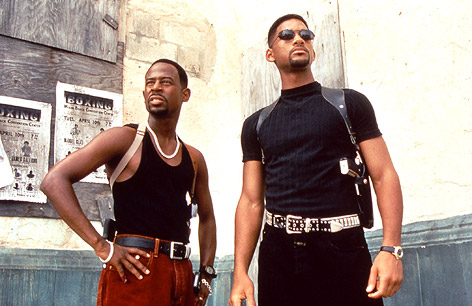 """Martin Lawrence und Will Smith in """"Bad Boys"""""""