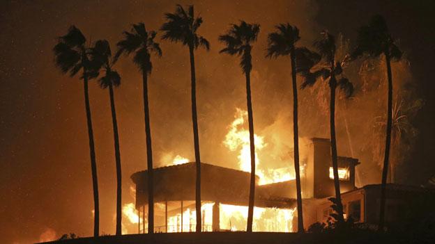 Malibu Waldbrände