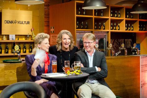 DENK mit KULTUR  Serge Falck und Ankathie Koi