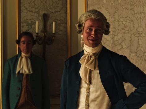 """Lukas Miko als Joseph II. in """"Angelo"""""""