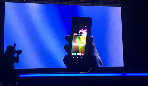 Samsungs faltbares Smartphone