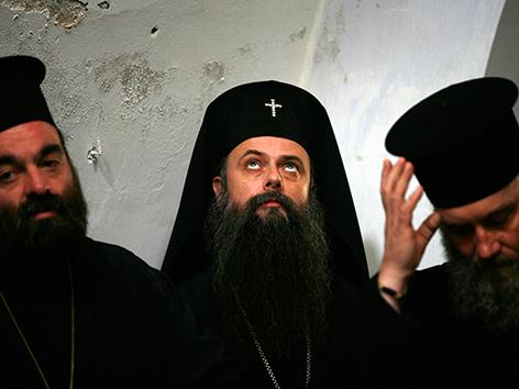 Griechisch-orthodoxe Priester