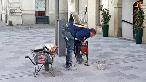 Stadtpflaster Steyr Arbeiten