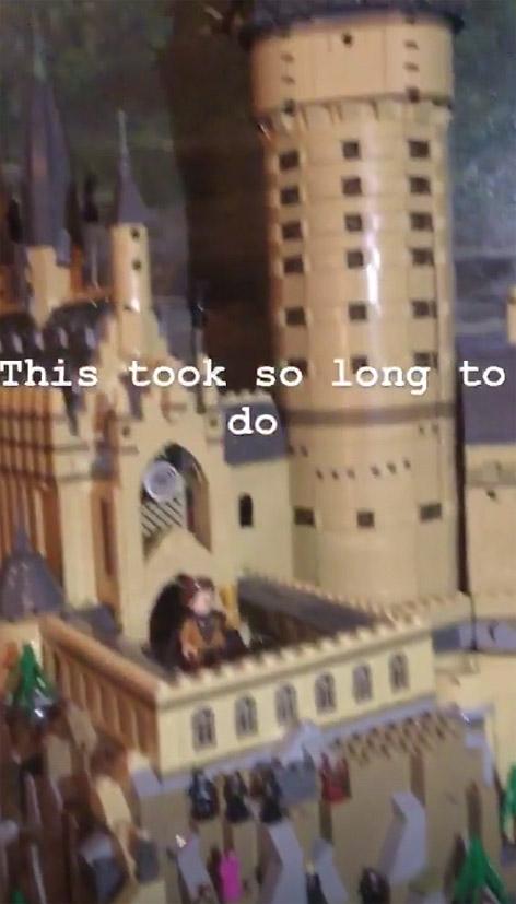 Screenshot von Ed Sheerans Insta-Story