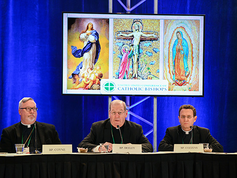 Die Vorsitzenden der amerikanischen Bischofskonferenz