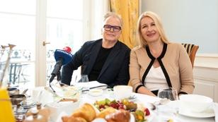 Herbert Grönemeyer zu Gast bei Claudia Stöckl