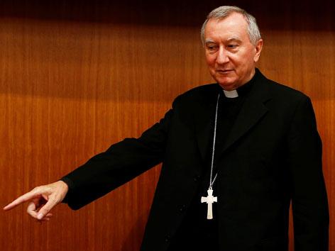 Vatikan-Staatssekretär Pietro Parolin