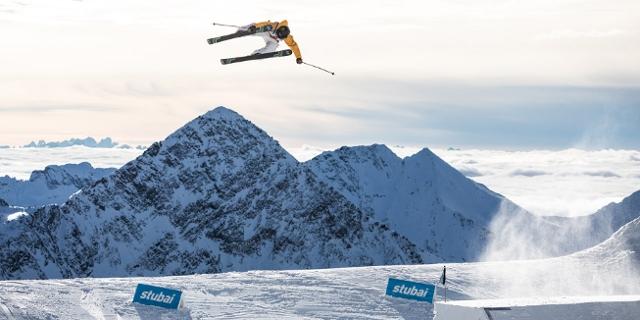 Bilder vom Freeski-Weltcup am Stubaier Gletscher