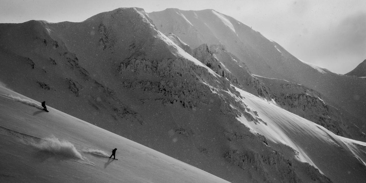 isländische Landschaften, Frauen
