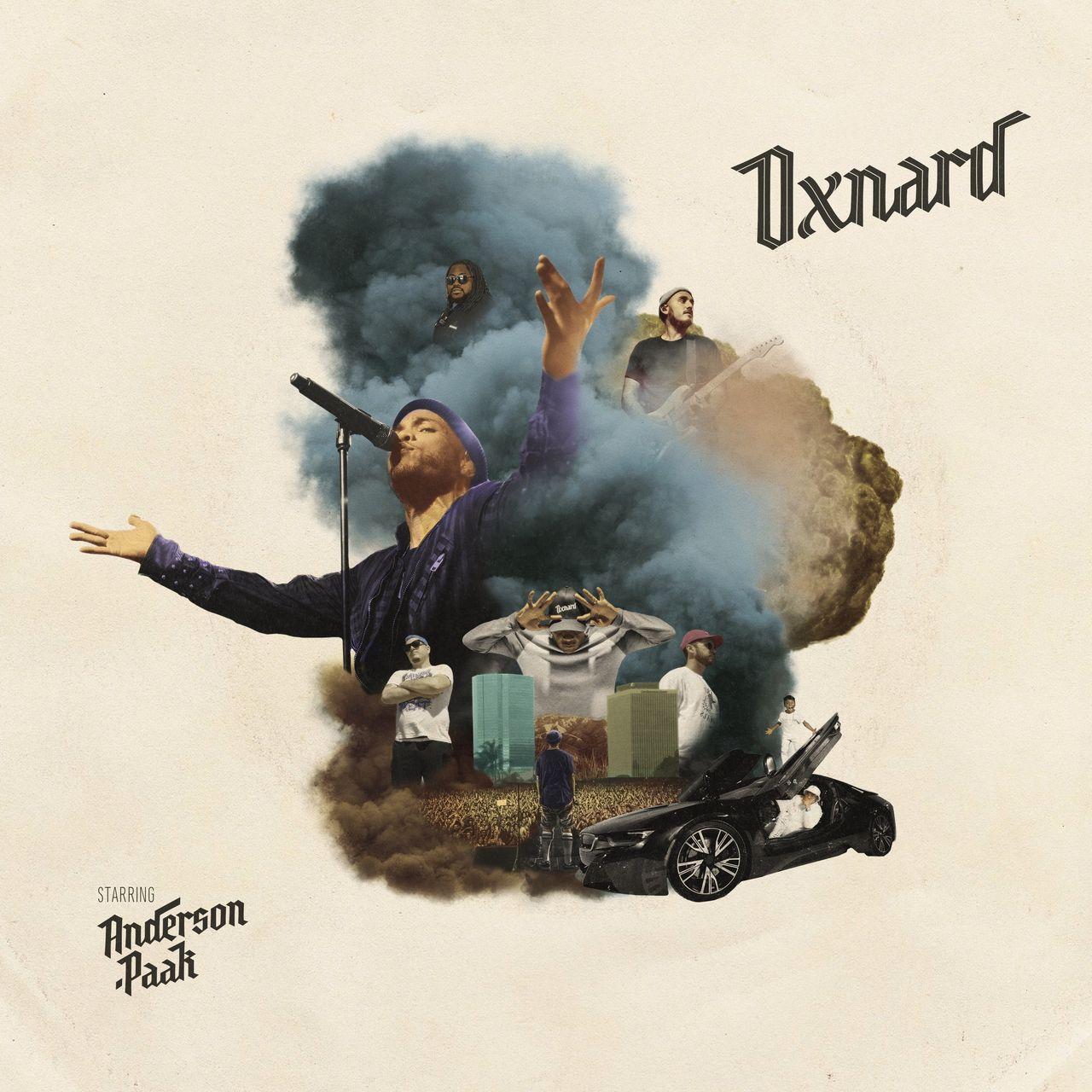 "Anderson .Paak, Album-Cover ""Oxnard"""