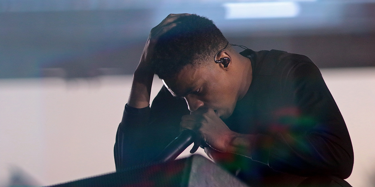 Vince Staples performt beim Coachella Music and Arts Festival