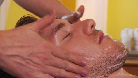Männerhautpflege