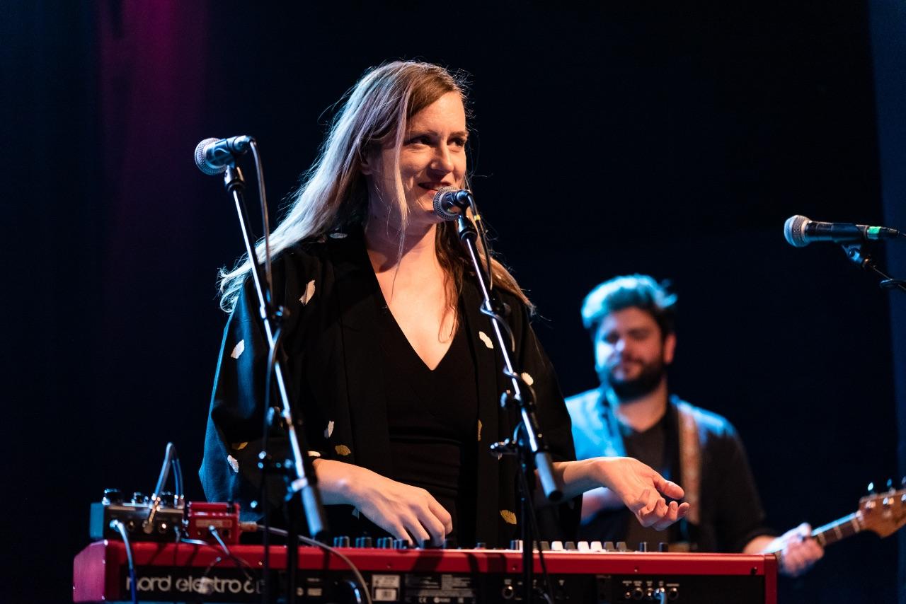 Laura Gibson am Blue Bird Festival 2018