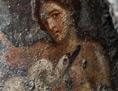 Das ausgegrabene Fresko